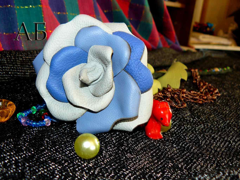 Синяя роза. (крупный план)